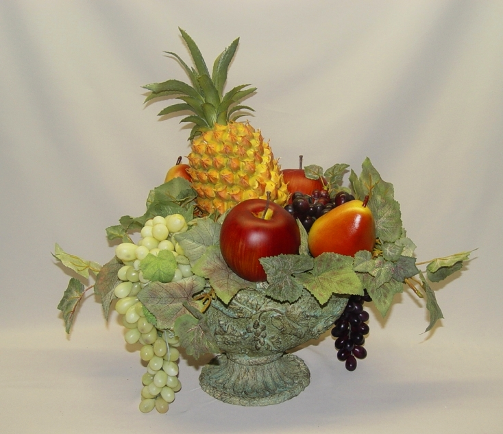 Fruit filled arrangement Floral arrangements with fruit