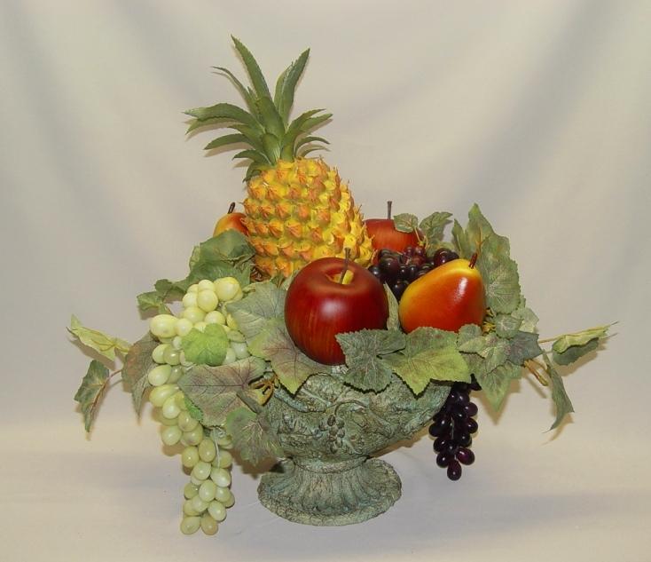 Fruit filled arrangement Floral arrangements with fruit